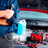 bateria estacionária em carro