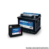 onde comprar bateria carro 60 amperes Jardim Mutinga